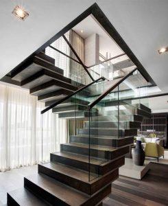 Stepenice - Staklo